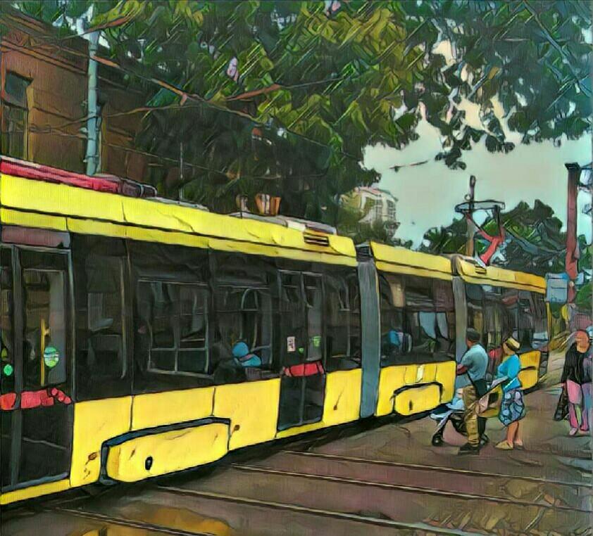 Супер-трамвай Метелица