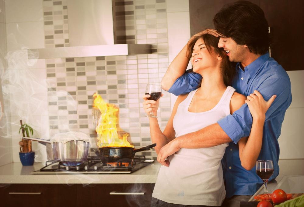Во время готовки не отвлекайтесь!!