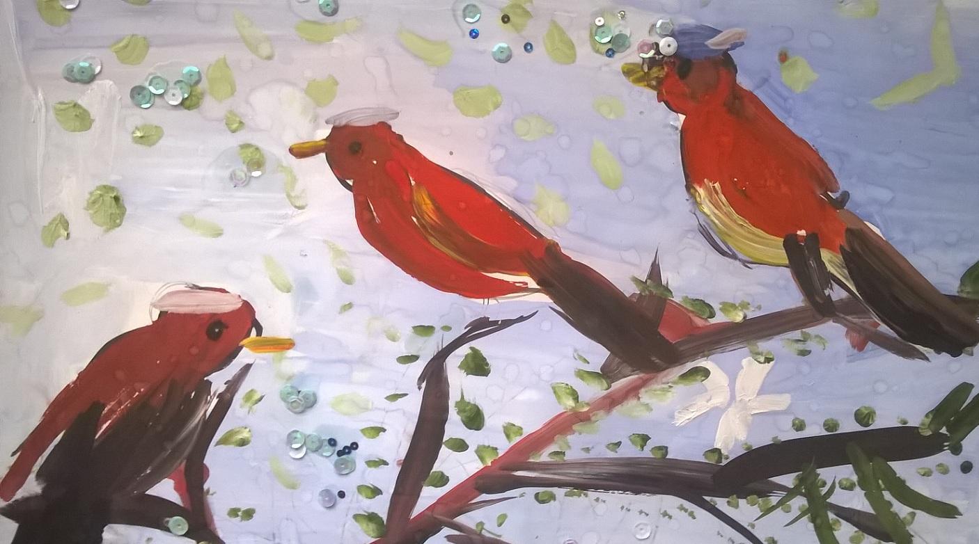 Семейство птичек