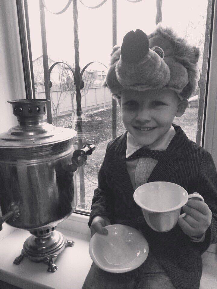 Как ежики пьют чай?)))