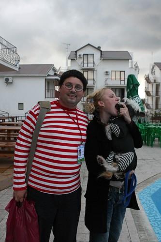Я, Дима и Валерия Гай Германика