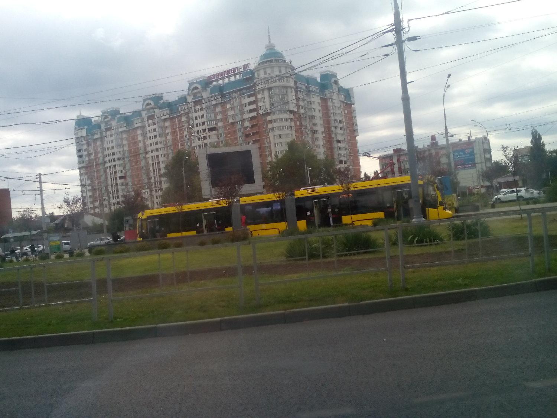 """Сразу понятно, что """"Метелица"""" - экологически чистый транспорт Краснодара!"""