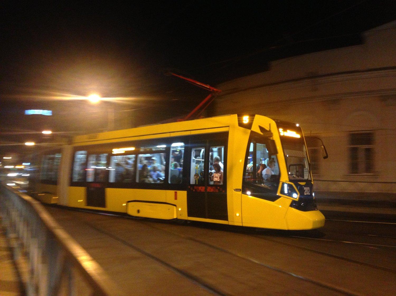 Супер быстрый трамвайчик