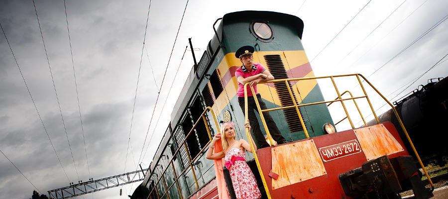 """Railway story"" или "" Сломанная ключица"" ©Фото ЮГА.ру"